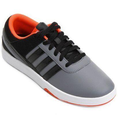 Tênis Adidas Park St Kflip - Masculino-Cinza+Preto