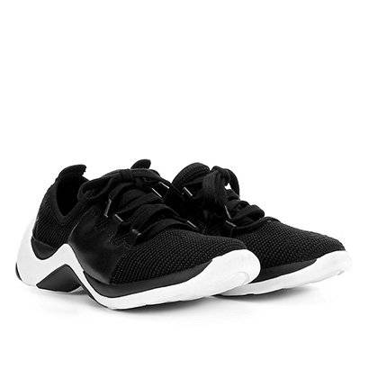 Tênis Bottero Sneaker Amarração Feminino - Feminino-Preto