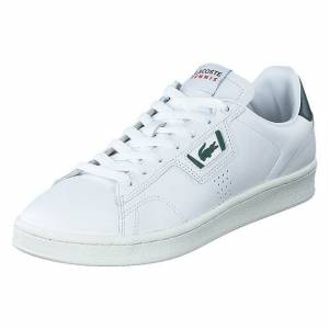Lacoste Masters Classic 0721 Wht/dk Grn, Herre, Sko, Sneakers, Hvid, EU 41