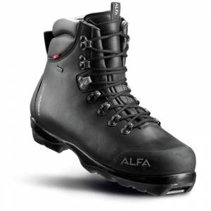 Alfa Men's Skarvet Advance Gore-Tex Sort Sort 45