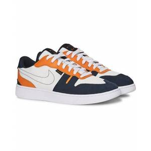 Nike Squash Type Sneaker White/Orange