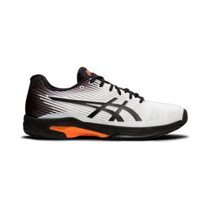 Asics Solution Speed FF White/Black/Orange 44