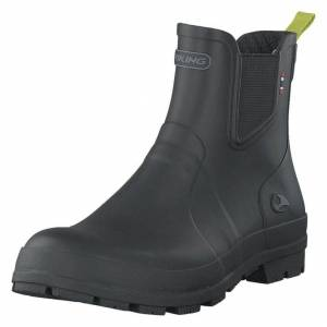 Viking Bergen Black/Lime, Herre, Shoes, grå, EU 43