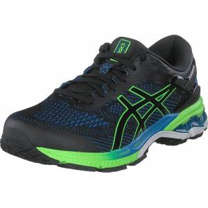 Asics Gel-kayano 26 Black/electric Blue, Sko, Sneakers & Sportsko, Løpesko, Svart, Herre, 40