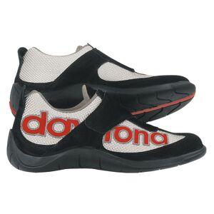 Daytona Moto Fun Motorsykkel sko Svart Rød Sølv 41