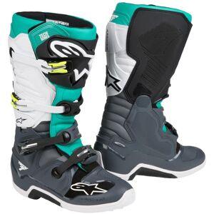 Alpinestars Tech 7 Motocross støvler 47 Grå Hvit