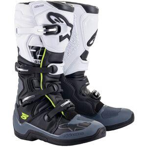 Alpinestars Tech 5 Motocross støvler 39 Svart Grå Hvit