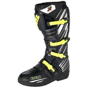 IXS XP-S2 Motocross støvler 37 Svart Hvit