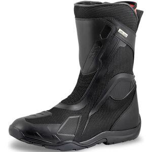 IXS Tour Techno-ST+ Motorsykkel støvler 47 Svart