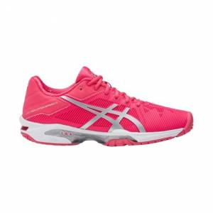 Asics Gel-Solution Speed 3 Rouge Red/Silver/White 36