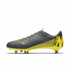 sports shoes 6011b 8e5cd Nike Fotbollssko för vått gräs Nike Mercurial Vapor XII Academy SG-PRO -  Grå 5.5