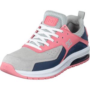 DC Shoes Vandium Se Grey/pink, Skor, Sneakers & Sportskor, Löparskor, Blå, Dam, 38
