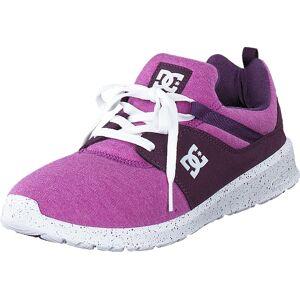 DC Shoes Dc Heathrow Se J Shoe Purple, Skor, Sneakers & Sportskor, Löparskor, Rosa, Lila, Dam, 36