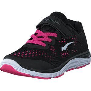 Bagheera Victory Jr Black/pink, Skor, Sneakers & Sportskor, Löparskor, Svart, Rosa, Barn, 35
