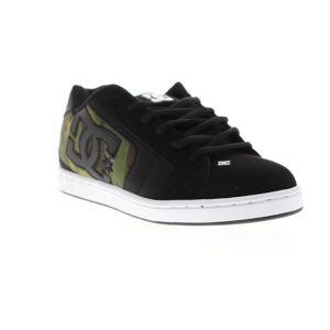 DC netto SE mens svart nubuck Lace up Athletic skate skor