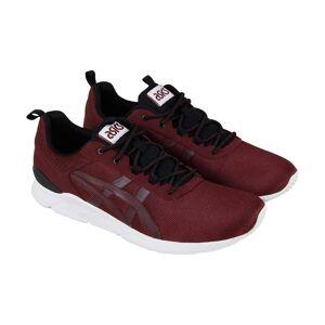ASICS gel Lyte Runner mens Red canvas casual låg Top sneakers skor