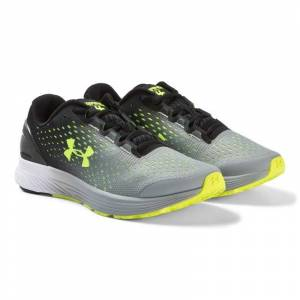 Under Armour BGS Bandit 4 Löparskor Svart/Gul 35.5 (UK 3)