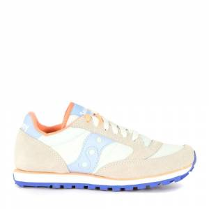 Saucony Sneaker Low Pro in suede and fabric