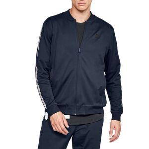 Under Armour Men's UA Sportstyle Tricot Track Jacket Blå