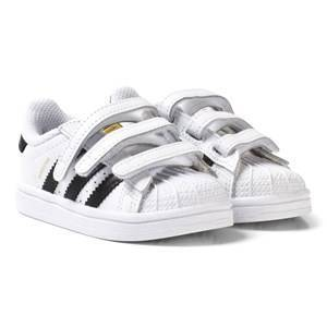 adidas Originals Superstar Infant Trainers Vit/Svart Barnskor 24 (UK 7)