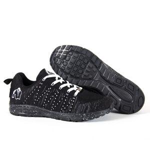 Gorilla Wear Brooklyn Knitted Sneakers, Black/white, Eu36