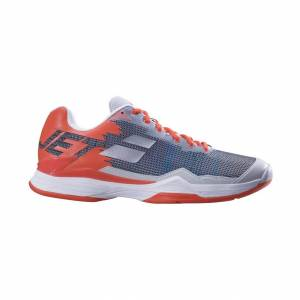 Babolat Jet Mach 1 Clay/Padel Silver Red 45