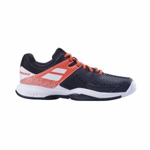 Babolat Pulsion All Court Black/Red Fluo Strike 45