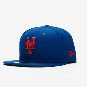 New Era Mlb x Sns 59fifty New York Mets för män i blått 7 1/4 Blue
