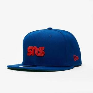 New Era Sns x Mlb 59fifty New York Mets för män i blått 8 Blue