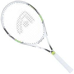 Adams Raquete de Tênis Adams Nano 26 - Infantil - BRANCO/VERDE