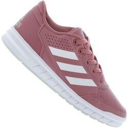 adidas Tênis adidas AltaSport K - Infantil - Rosa Esc/Branco