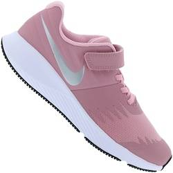 Nike Tênis Nike Star Runner Feminino - Infantil - Rosa/Cinza Cla