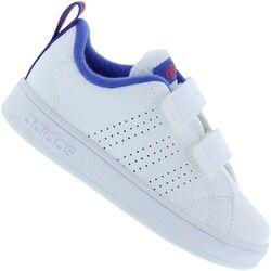 adidas Tênis para Bebê adidas VS Advantage Clean - Infantil - BRANCO/AZUL