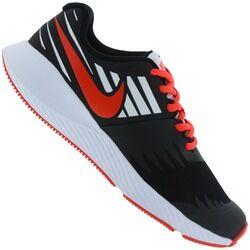 Nike Tênis Nike Star Runner JDI GS - Infantil - PRETO/BRANCO