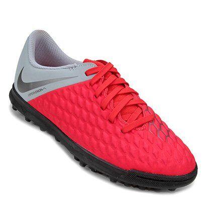 Chuteira Society Infantil Nike Hypervenom Phantom 3 Club TF - Unissex