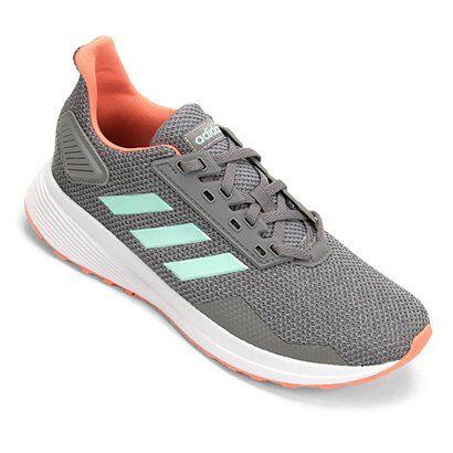 Tênis Adidas Infantil Duramo Feminino - Unissex-Cinza