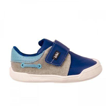 Tênis Infantil Masculino Bibi Crescer New II - Masculino-Azul