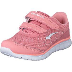 Bagheera Player Pink/white, Sko, Sneakers og Træningssko, Sneakers, Lyserød, Børn, 25