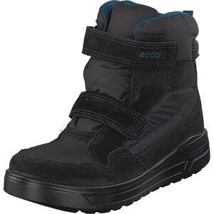 Ecco Urban Snowboarder Black/black, Kengät, Bootsit, Vaelluskengät, Musta, Lapset, 28