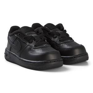 NIKE Black Force 1 Infants Shoes Lasten kengt 23.5 (UK 6.5)
