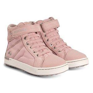 Viking Sagene Mid GTX Shoes Light Pink and Violet Lasten kengt 31 EU
