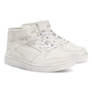 Puma Rebound Layup Sneakers White Lasten kengt 31 (UK 12)