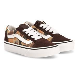 Vans Old Skool Sneakers Khaki Lasten kengt 32 (UK 1, US 1.5)