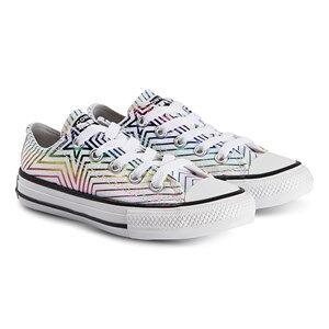 Converse Iridescent Star Chuck Taylor Sneakers White Lasten kengt 34 (UK 2)