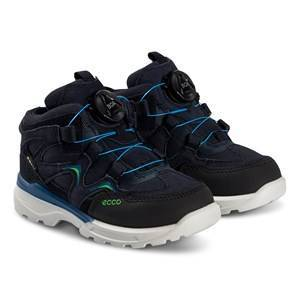 ECCO Urban Hiker Shoes Black and Night Sky Hiking boots