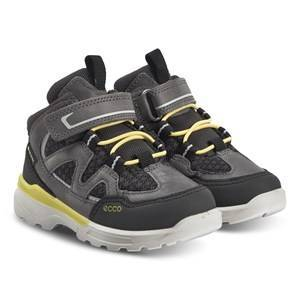 ECCO Urban Hiker Shoes Black and Titanium Hiking boots