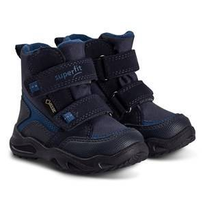 Superfit Glacier Snow Boots Dark Blue/Pink Estate