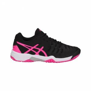 Asics Resolution 7 GS  Junior Black/Pink Size 40 35