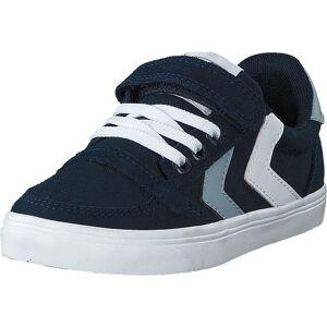 Hummel Slimmer Stadil Low Jr Black Iris, Sko, Sneakers og Treningssko, Lave Sneakers, Svart, Barn, 26