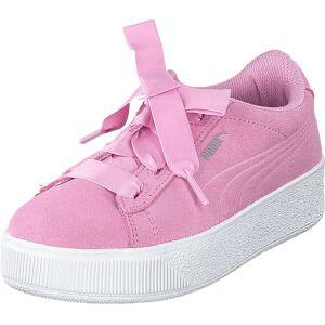 Puma Puma Vikky Platform Ribbon Ps Pink, Sko, Lave sko, Tursko, Rosa, Barn, 34